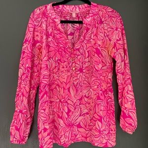 Lilly Pulitzer Elsa Top - Pawsitive Catitide